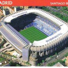 Coleccionismo deportivo: POSTAL DEL ESTADIO SANTIAGO BERNABEU DEL R.MADRID - GOLY. Lote 23720966
