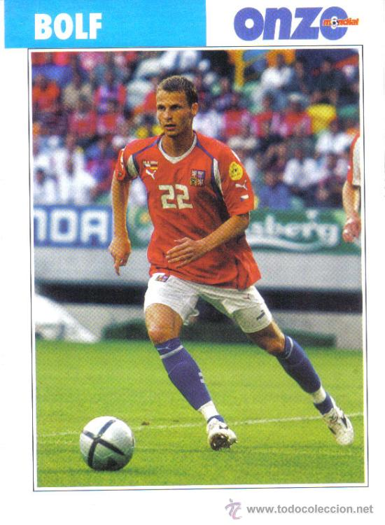 FICHA DE LA REVISTA ONZE DE BOLF CON LA REPUBLICA CHECA - GOLY (Coleccionismo Deportivo - Postales de Deportes - Fútbol)