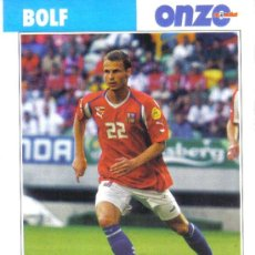 Coleccionismo deportivo: FICHA DE LA REVISTA ONZE DE BOLF CON LA REPUBLICA CHECA - GOLY. Lote 24118461