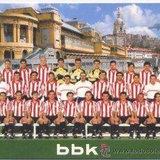 Coleccionismo deportivo: POSTAL ATHLETIC CLUB 2000/2001. Lote 26530853