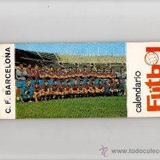 Coleccionismo deportivo: FC BARCELONA, CALENDARIO FUTBOL 1969 - 13 POSTALES DE JUGADORES DEL FC BARCELONA CON SU CALENDARIO. Lote 26485669
