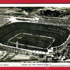 Coleccionismo deportivo: POSTAL CAMPO DE FUTBOL , ESTADIO DEL REAL MADRID , FOTOGRAFICA , P60612. Lote 26015566