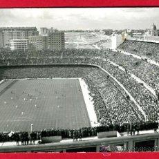 Coleccionismo deportivo: POSTAL CAMPO DE FUTBOL , ESTADIO DEL REAL MADRID SANTIAGO BERNABEU ,FOTOGRAFICA , P60613. Lote 26015577