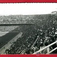 Coleccionismo deportivo: POSTAL CAMPO DE FUTBOL , ESTADIO DEL REAL MADRID SANTIAGO BERNABEU ,FOTOGRAFICA , P60614. Lote 26015585