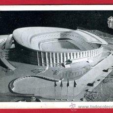 Coleccionismo deportivo: POSTAL CAMPO DE FUTBOL , ESTADIO DEL BARCELONA 1954 , MAQUETA , P60635. Lote 26015985