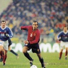 Coleccionismo deportivo: ABELARDO FERNÁNDEZ JUGADOR FÚTBOL FOTO TIPO POSTAL DORSO BLANCO NUEVA . Lote 26194735