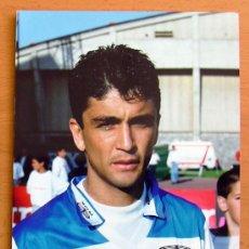 Coleccionismo deportivo: DEPORTIVO DE LA CORUÑA - BEBETO - FOTO TAMAÑO 22X15. Lote 31178297