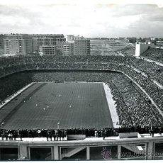 Coleccionismo deportivo: POSTAL FUTBOL , ESDADIO SANTIAGO BERNABEU, DOMINGUEZ , REAL MADRID. PF3. Lote 26476668