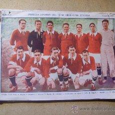 Coleccionismo deportivo: 1926 FOOTBALL FUTBOL ARGENTINA - CLUB ARGENTINO JUNIORS, EL GRAFICO. Lote 26672223