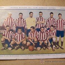Coleccionismo deportivo: 1927 FOOTBALL FUTBOL ARGENTINA - CLUB BARRACAS CENTRAL - HELEN RIGGIN. Lote 26672259