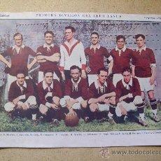 Coleccionismo deportivo: 1927 FOOTBALL FUTBOL ARGENTINA - CLUB LANUS - JULIO MOCOROA. Lote 26672270