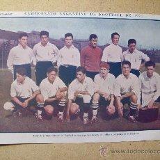 Coleccionismo deportivo: 1927 FOOTBALL FUTBOL ARGENTINA - TEAM SANTIAGO DEL ESTERO. DIEUDONNE COSTES. Lote 26693818