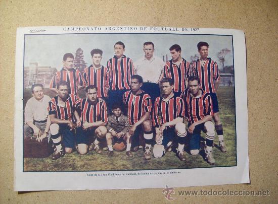 1927 FOOTBALL FUTBOL ARGENTINA - LIGA DE CORDOBA. ANTONIO VILLAMIL (Coleccionismo Deportivo - Postales de Deportes - Fútbol)