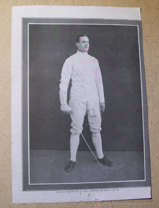 Coleccionismo deportivo: 1927 FOOTBALL FUTBOL ARGENTINA - LIGA DE CORDOBA. ANTONIO VILLAMIL - Foto 2 - 26693831