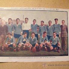 Coleccionismo deportivo: 1927 FOOTBALL FUTBOL ARGENTINA - LIGA DE MENDOZA. GEORGE DUNCAN. Lote 26693835