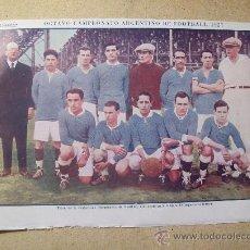 Coleccionismo deportivo: 1927 FOOTBALL FUTBOL ARGENTINA - LIGA DE PARANA. GENE TUNNEY. Lote 26693836