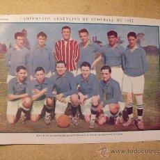 Coleccionismo deportivo: 1927 FOOTBALL FUTBOL ARGENTINA - LIGA SANTA FE. HECTOR FRECERO. Lote 26693839