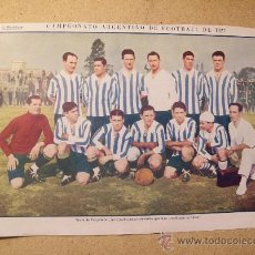 Coleccionismo deportivo: 1927 FOOTBALL FUTBOL ARGENTINA - TEAM PERGAMINO. W.J. BAILEY. Lote 26693852