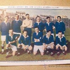 Coleccionismo deportivo: 1927 FOOTBALL FUTBOL ARGENTINA - CLUB SPORTIVO PALERMO. HAGEN - COMPSTON. Lote 26693883