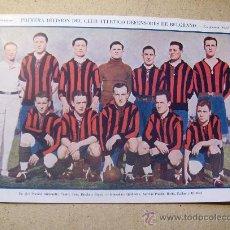 Coleccionismo deportivo: 1928 FOOTBALL FUTBOL ARGENTINA - DEFENSORES DE BELGRANO - AMELIA EARHART. Lote 26714469