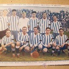 Coleccionismo deportivo: 1928 FOOTBALL FUTBOL ARGENTINA - ARGENTINO DE QUILMES - LOUKOLA, NURMI, RITOLA.. Lote 26714491