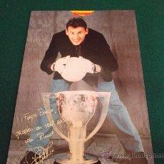 Coleccionismo deportivo: RUUD HESP-F.C.BARCELONA,CAMPIONS LIGA 97-98-31X22CM-SPORT-. Lote 26761371