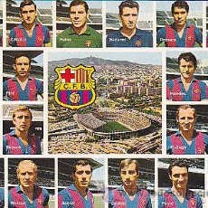 Coleccionismo deportivo: POSTAL PLANTILLA C.F. BARCELONA . Lote 28051058