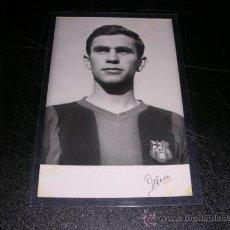 Coleccionismo deportivo: FC BARCELONA - POSTAL FOTOGRAFICA DE UN JUGADOR DEL CF BARCELONA 1958, . Lote 28097984