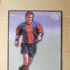 Coleccionismo deportivo: BARÇA CAMPEON POSTAL GRANDE DE FERRON DEL FC BARCELONA. Lote 28627636