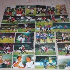 Coleccionismo deportivo: LOTE 25 POSTALES DE JUGADORES INGLESES (DIVERSAS TOMAS). VER RELACIÓN.. Lote 28929247