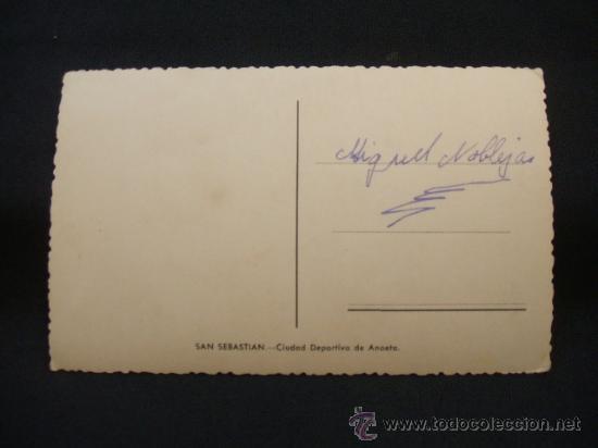 Coleccionismo deportivo: SAN SEBASTIAN - CIUDAD DEPORTIVA DE ANOETA - - Foto 3 - 30049338