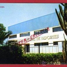 Coleccionismo deportivo: POSTAL FUTBOL , CAMPO ESTADIO PABELLON DEPORTIVO ALMENARA CASTELLON , ORIGINAL ,P66760. Lote 30071967