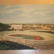 Coleccionismo deportivo: ANTIGUA POSTAL ESTADIO OLÍMPICO ROMA,CAMPO DE FUTBOL, EDIZIONE S.A.F.. Lote 30091549