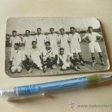 Coleccionismo deportivo: FOTOGRAFIA DEL EQUIPO DE FUTBOL DE LA CASA SCHNEIDER - PRINCIPIOS S XX - MADRID. Lote 30144055