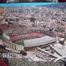 Coleccionismo deportivo: BARCELONA-E16-ESTADI FUTBOL CLUB BARCELONA-NO ESCRITA-ESCUDO DE ORO-D.L.B.24257-XXVI. Lote 30211642