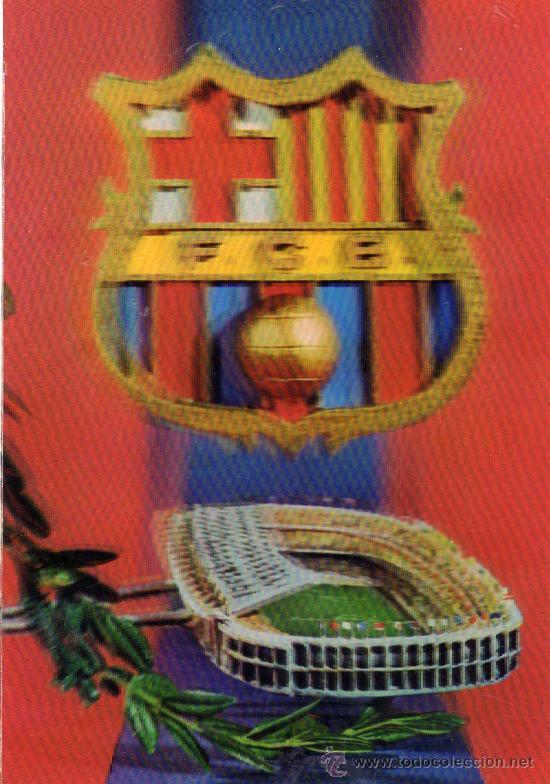 FUTBOL CLUB BARCELONA R. 378 EN TRES DIMENSIONES COMERCIAL ESCUDO DE ORO NUEVA SIN CIRCULAR (Coleccionismo Deportivo - Postales de Deportes - Fútbol)