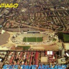 Coleccionismo deportivo: CAMPO DE FÚTBOL - COLO COLO SANTIAGO CHILE - MONUMENTAL ESTADIO DAVID ARELLANO - NUEVA SIN CIRCULAR . Lote 30414837