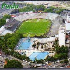 Coleccionismo deportivo: CAMPO DE FÚTBOL - PALMEIRAS SAO PAULO BRASIL - ESTADIO PALESTRA ITALIA - NUEVA SIN CIRCULAR . Lote 30415331