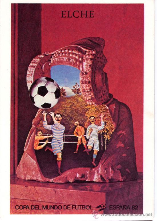 Sede Elche Cartel Oficial del Mundial/'82