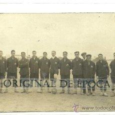 Coleccionismo deportivo: (F-127)POSTAL FOTOGRAFICA EQUIPO FOOT-BALL F.C.MENORCA???. Lote 31091149