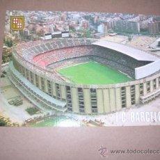 Coleccionismo deportivo: Nº 506 BARCELONA ESTADI FUTBOL CLUB BARCELONA ,VISTA AERIA COM. ESCUDO DE ORO 15X10 CM.. Lote 31141212