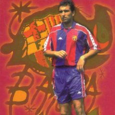 Coleccionismo deportivo: F. C. BARCELONA - ABELARDO. Lote 31499188