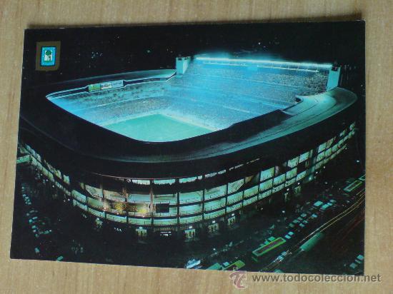 Postal Estadio Santiago Bernabeu De Noche Sold Through Direct Sale 31591408