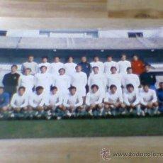 Coleccionismo deportivo: POSTAL PLANTILLA REAL MADRID LIGA 71 72 SIN CIRCULAR. Lote 31672463