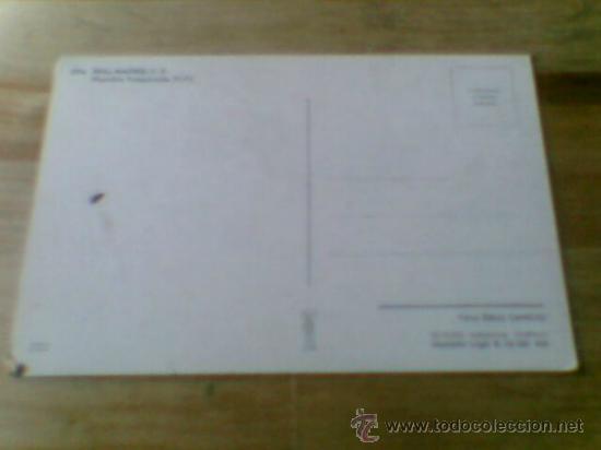 Coleccionismo deportivo: Postal plantilla Real Madrid liga 71 72 sin circular - Foto 4 - 31672463