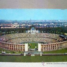 Coleccionismo deportivo: POSTAL, FOTO POSTAL, ESTADIO OLIMPICO, BERLIN, M. BLOCK. Lote 31756278