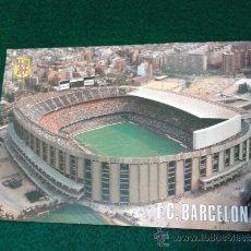 Coleccionismo deportivo: POSTAL F.C. BARCELONA VISTA AEREA 506 ESCUDO DE ORO SIN USO.. Lote 31746916