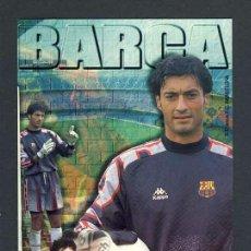 Coleccionismo deportivo: POSTAL DEL JUGADOR DEL FUTBOL CLUB BARCELONA BARÇA VITOR BAIA. Lote 31988804