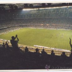 Coleccionismo deportivo: POSTAL*CAMP NOU DEL FC BARCELONA* FOTO JOSE M. ALGUERSUARI. Lote 32504369