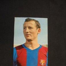 Coleccionismo deportivo: POSTAL C.F. BARCELONA - GALLEGO - FOTO: SEGUÍ - . Lote 32620300